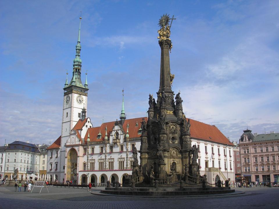 Olmütz Hauptplatz ©Dominik.Tefert