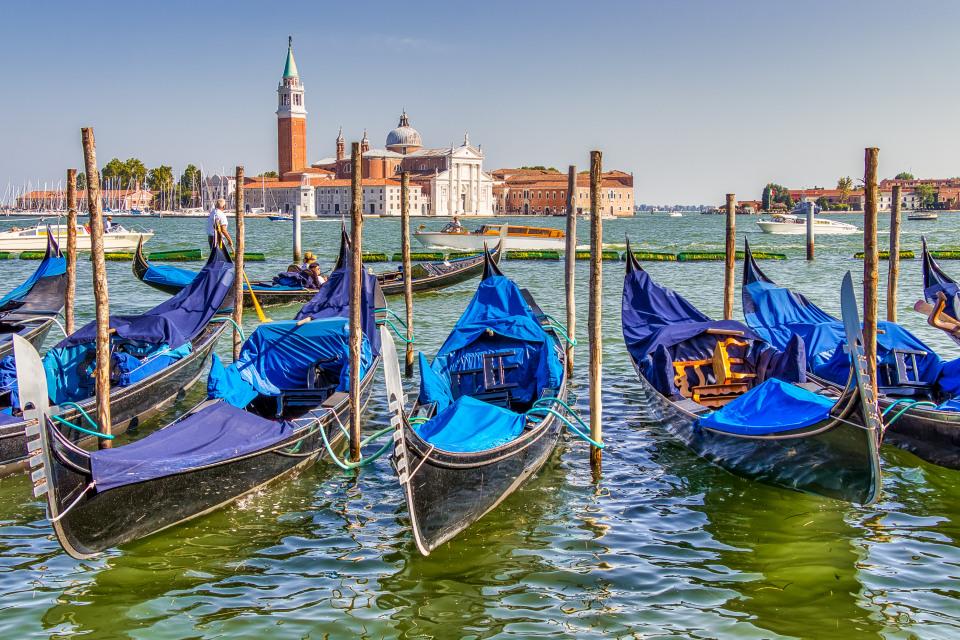 Venedig Gondeln©pixabay.com