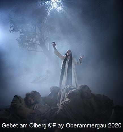 Gebet am Ölberg ©Passions Play Oberammergau 2020